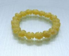 Armband aus Jadeblumen - verkauft