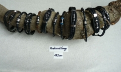 Herren Leder Armbänder 18,5 cm lang