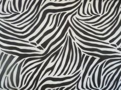 Handspiegel Zebra